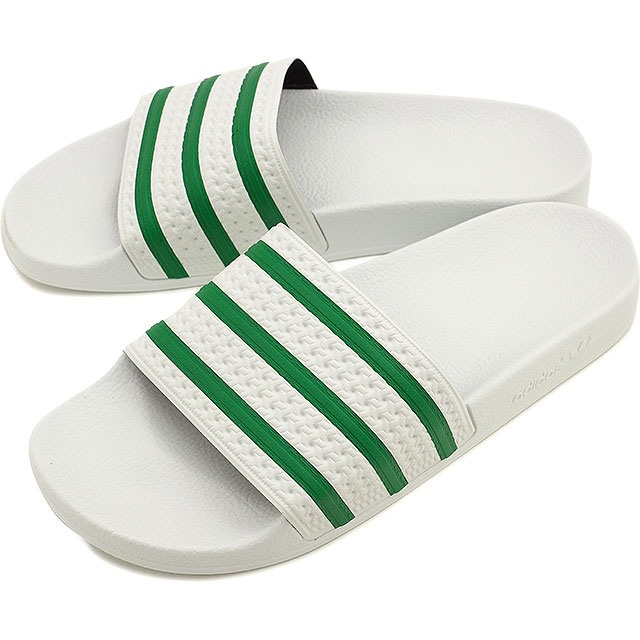 2cd61be53260 adidas Originals Adidas originals shower sandal men gap Dis ADILETTE  アディレッタランニングホワイト   green   running white S78678 SS16