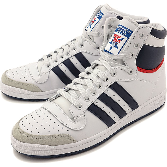 outlet store 048ec 5157e adidas Originals adidas originals sneakers mens Womens TOP TEN HI top ten Hi  S08 neo white   new Navy   College red D65161 SS16