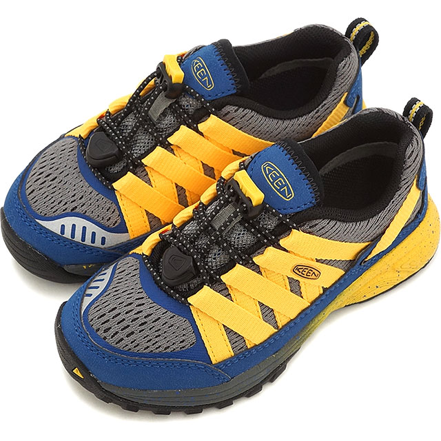 KEEN keen kids children's sneakers Versatrail CHILDREN varsatrail True Blue/Keen Yellow (1014439 SS16)