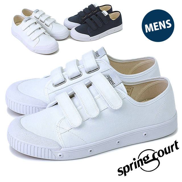 Light overcoat men sneakers shoes G2 Velcro canvas SPRING COURT MNS G2 Velcro  Canvas (G2NV-V1 SS16) a9ae7f905