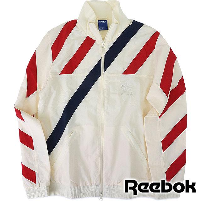 Reebok classic mens vintage track top coat heritage CC Championship track top Reebok CLASSIC CC CHAMPIONSHIP TRACK TOP CREAM WHITE (AK1162 SS16)
