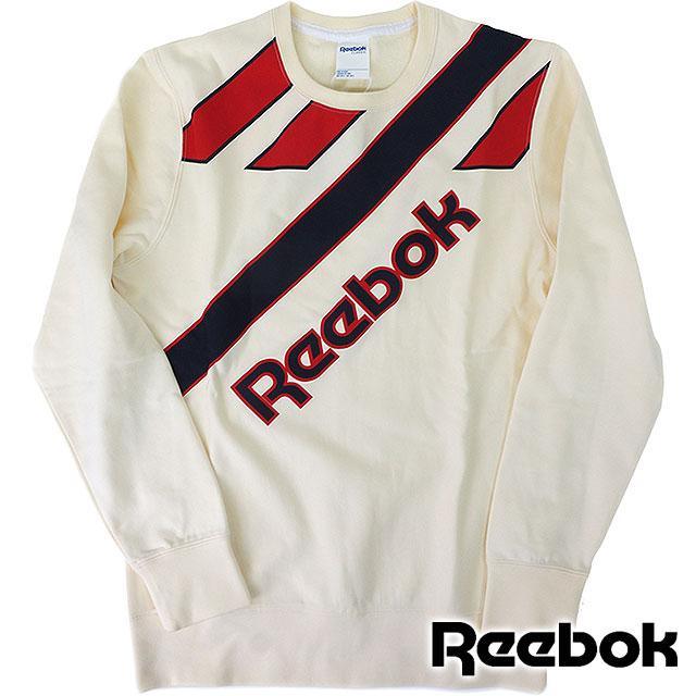 e163f01dd3f02 Reebok classics men's vintage crew sweat coat heritage CC retro crewneck  sweet Reebok CLASSIC CC RETRO CREWNECK CREAM WHITE (AK1192 SS16)