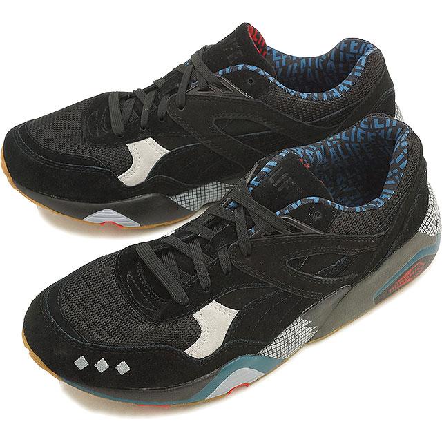 adb168185b5 Puma men gap Dis sneakers R698 X エーライフブラック PUMA R698 X ALIFE BLACK black    glacier gray (360