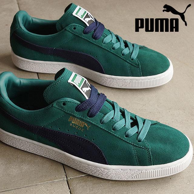 best service 306a5 11914 PUMA men's women's sneaker Swede classic plus PUMA SUEDE CLASSIC + storm /  peacoat / white (356568-77 SS16)