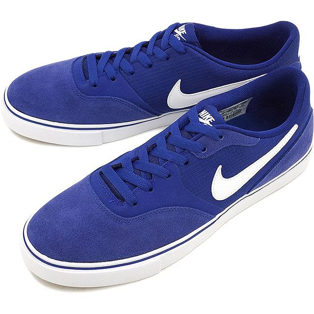 blue nike skateboarding shoes