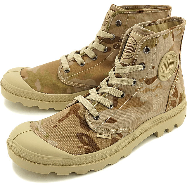Palladium Pampa Hi MultiCam PALLADIUM men Pampa Hi Multicam Arid Camo  (03713-998 SS16)