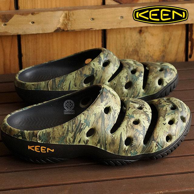 KEEN keen Yogui Arts MNS clock Yogi Arts Sandals mens Camo Green ( 1002034 ) fs3gm
