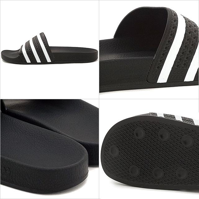 467471b3b0c369 アディダスオリジナルスアディレッタシャワーサンダル shoes adidas Originals ADILETTE black   white    black (280647)