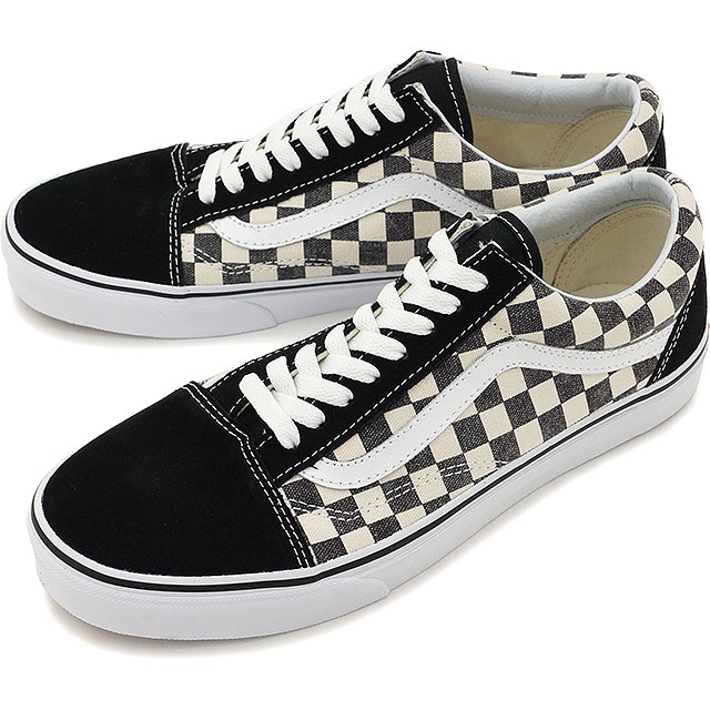 vans old skool checkerboard black espresso