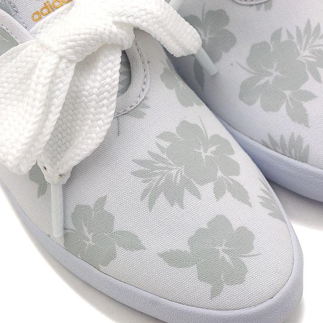 阿迪達斯隊花運動鞋阿迪達斯原件替換花運行運行白的 / 正在運行的白色白色 AQ4372 SS16