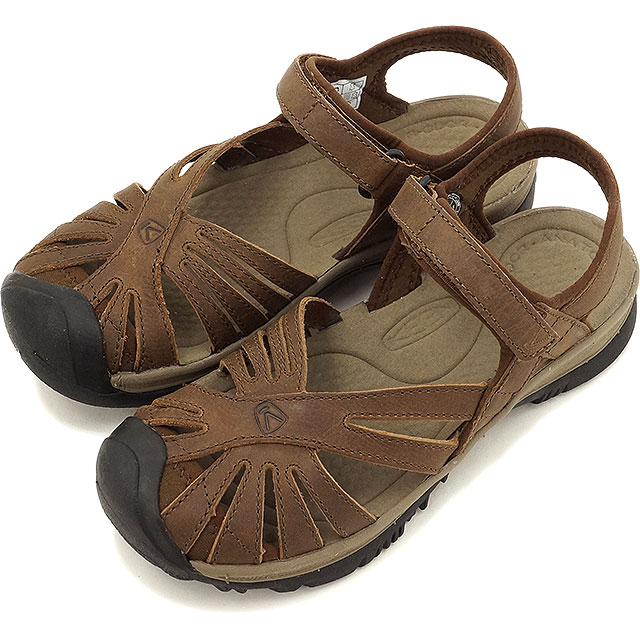 Women's Rose Leather Sandal