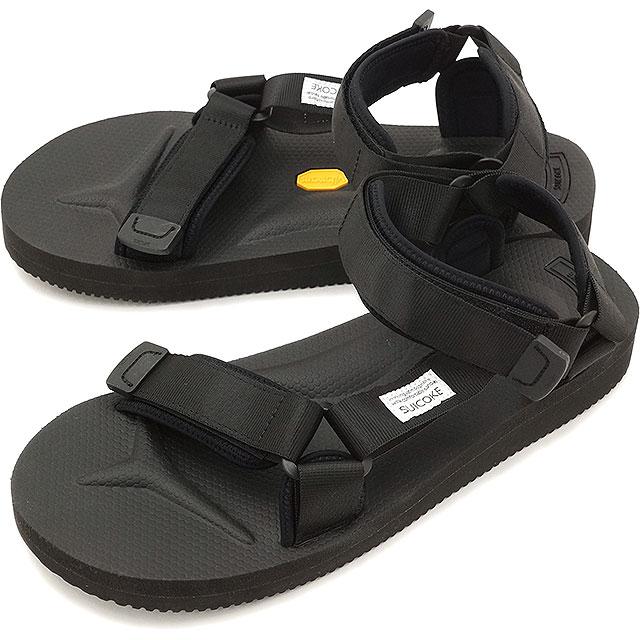 2c247e2518c2 suicoke Sui cook men gap Dis vibram sole sandal SUICOKE DEPA-V2 BLACK  (OG-022V2)
