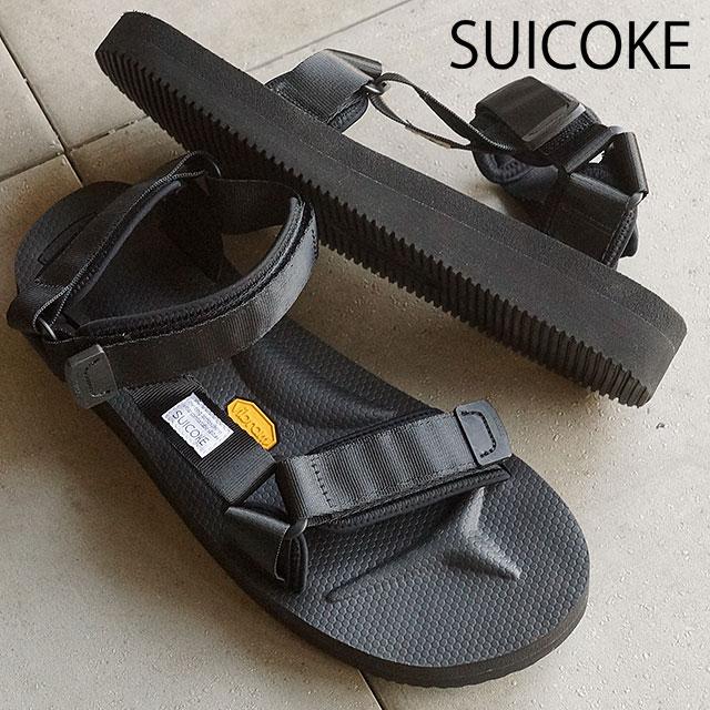 suicoke sicock mens Womens Vibram sole Sandals SUICOKE DEPA-V2 BLACK (OG-v2 022 SS16)
