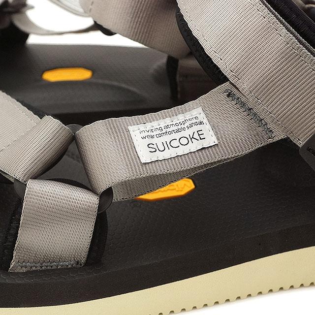 suicoke sicock 男裝女裝 Vibram 鞋底涼鞋 SUICOKE 德 V2 灰色 (OG v2 022 SS16)