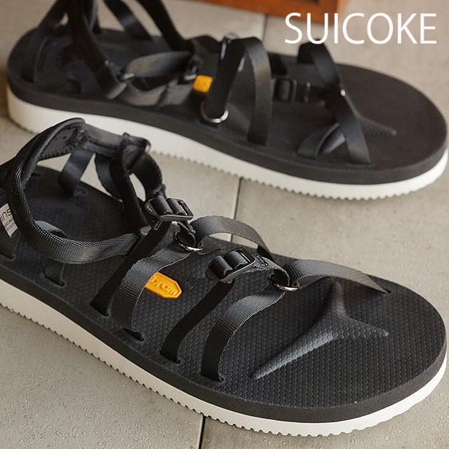 suicoke sicock 男装女装 Vibram 鞋底凉鞋 SUICOKE TOSSHI V 黑色 (OG-050 V SS16)
