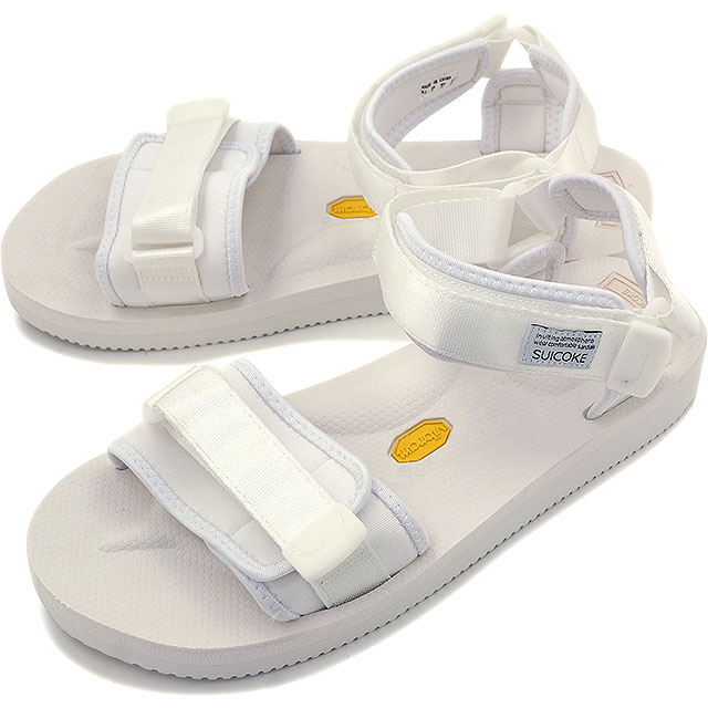 suicoke sicock 男装女装 Vibram 鞋底凉鞋 SUICOKE CEL-V 白色 (OG 064 V SS16)