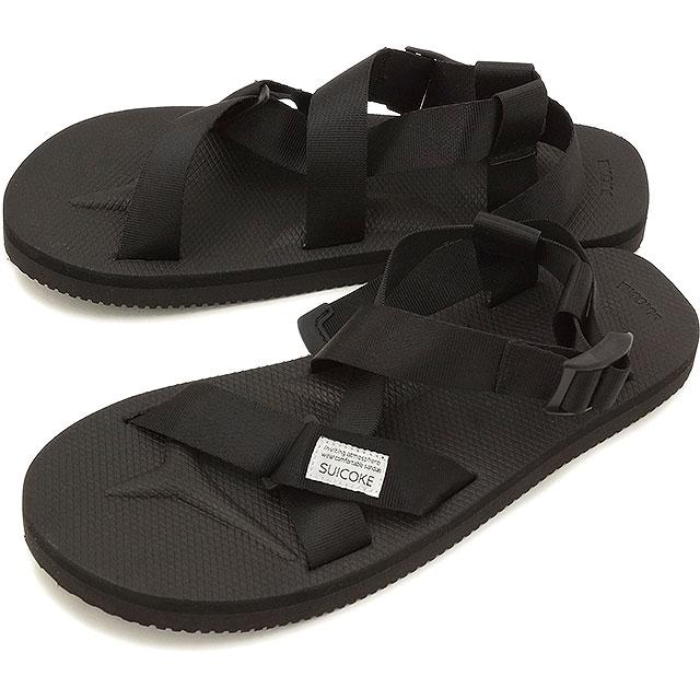 abbd1804d910 suicoke Sui cook men gap Dis strap sandal SUICOKE CHIN2 BLACK (OG-023-2)