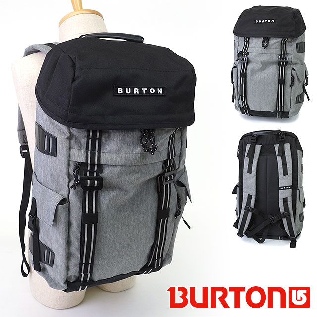 3545dcbc30e Burton annex Pack backpack BURTON mens Womens 28L Backpack Rucksack ANNEX  PACK Grey Heather (163391 ...