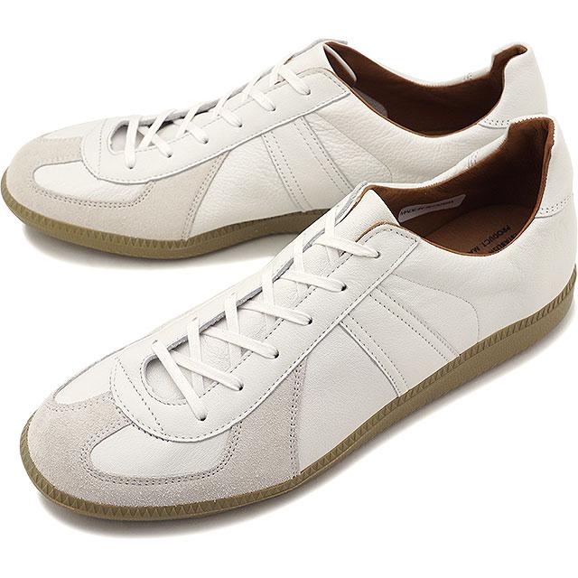 リプロダクション オブ ファウンド ジャーマントレーナー REPRODUCTION OF FOUND メンズ・レディース ミリタリースニーカー 靴 1700L WHITE