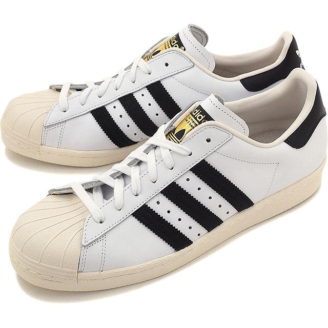 【即納】アディダス スーパースター 80s ホワイト/ブラック/チョーク2 adidas Originals SUPERSTAR 80s メンズ レディース 靴 (G61070)【e】【コンビニ受取対応商品】