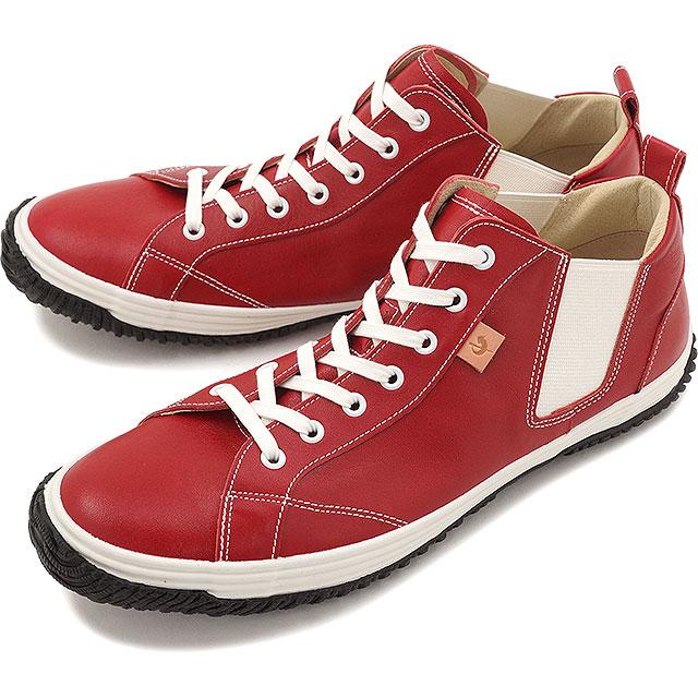 【返品送料無料】スピングルムーブ カンガルーレザー サイドゴア SPINGLE MOVE SPM-442 Red スピングル ムーヴ 靴 [SPM442-10 SS16]