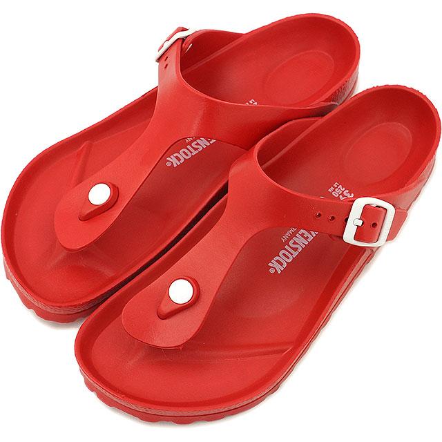 f37ee80d33c BIRKENSTOCK Birkenstock Womens mens GIZEH sandal Giza EVA Red (128231 SS15)