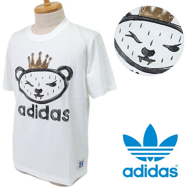 adidas Originals adidas originals apparel men's women's ARTIST BEAR TEE  NIGO artist bear T shirt White AJ5203 SS16