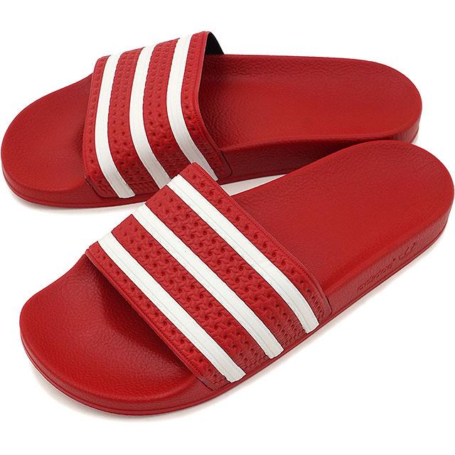 5ab2c92450b9 アディダスオリジナルスアディレッタライトスカーレット   white   light scarlet shower sandal men gap  Dis adidas Originals ADILETTE 288193 SS16