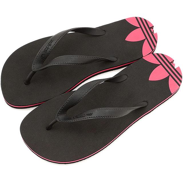 adidas flip flops. adidas originals addison flip flops core block / black rush pink women\u0027s