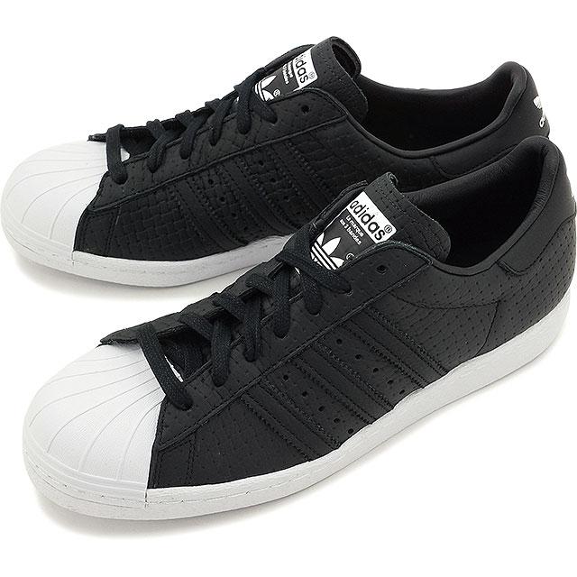 adidas superstar black white mens