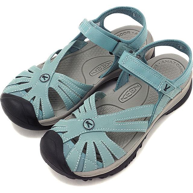 热衷于热衷于妇女凉鞋玫瑰凉鞋玫瑰凉鞋矿物蓝/中性灰色 (1014462 SS16)