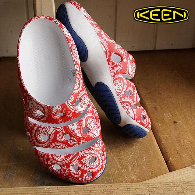 熱衷於熱衷於婦女涼鞋 Yogui 藝術女性修行者藝術紅色佩斯利 (1014831 SS16)