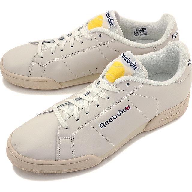 90d468eaa825 Reebok classical music men gap Dis sneakers NPC ENH tennis ball Reebok  CLASSIC NPC ENH TB CHALK PAPERWHITE MIDNIGHT BLUE YELLOW SPARK (V67567 SS16)