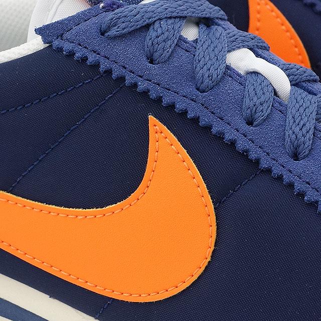 low priced 6918c f1b34 ... spain nike mens sneaker classic cortez nylon nike classic cortez nylon  bright mandarin dark perpldust sail