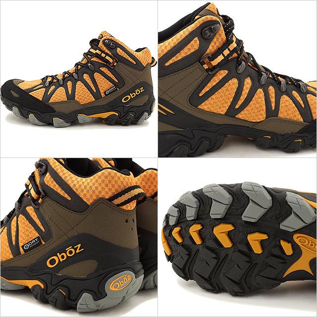 235bf651b77 OBS men's trekking Shoes Sneakers traverse mid Oboz MENS Traverse Mid  Yellow/Black (OB00021601YLBK SS16)