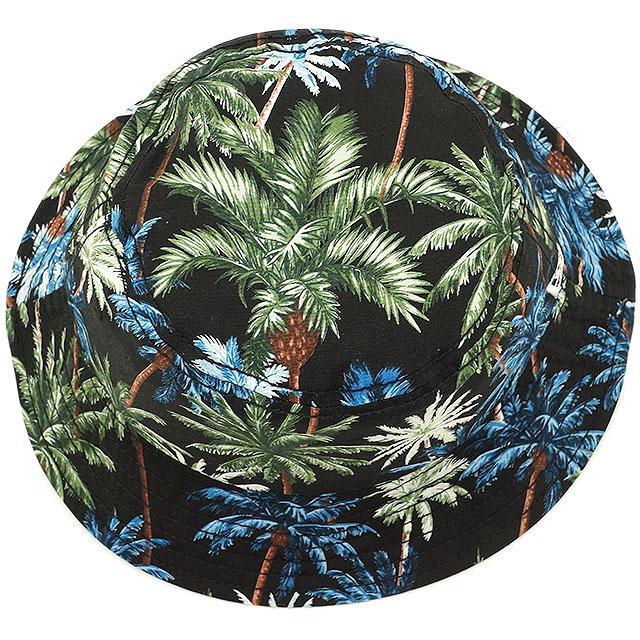 New era Palm bucket Hat NEWERA mens Womens BUCKET-01 PALMTREE HAT (11226027  SS16) 983a04621680