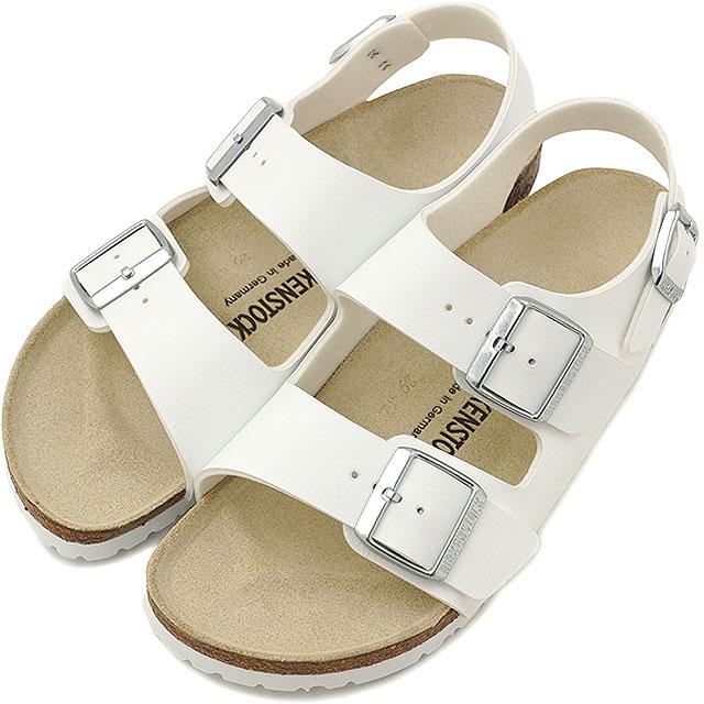 ビルケンシュトック ミラノ ビルコフロー BIRKENSTOCK メンズ レディース サンダル 靴 MILANO WHITE 034733/034731(GC034733/GC034731)【コンビニ受取対応商品】