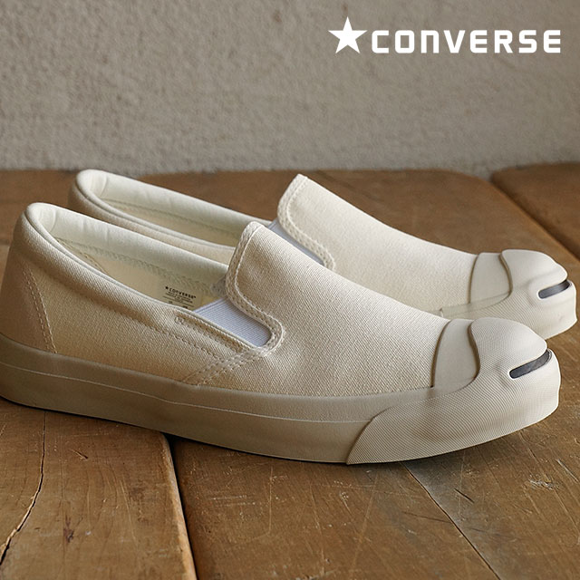 5fbe7e2fd8e8 Converse Jack Pursel wash out slip-ons 2 men s lady s CONVERSE JACK PURCELL  WASHOUT SLIP-ON II natural white shoes (32262789 SS16)