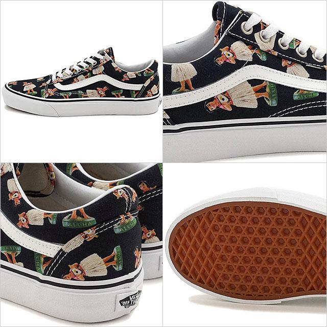 ec82320fd8d2 VANS vans sneakers mens ladies OLD SKOOL CLASSICS old school (DIGI HULA)  BLACK TRUE WHITE (VN0003Z6ID7 SS16)