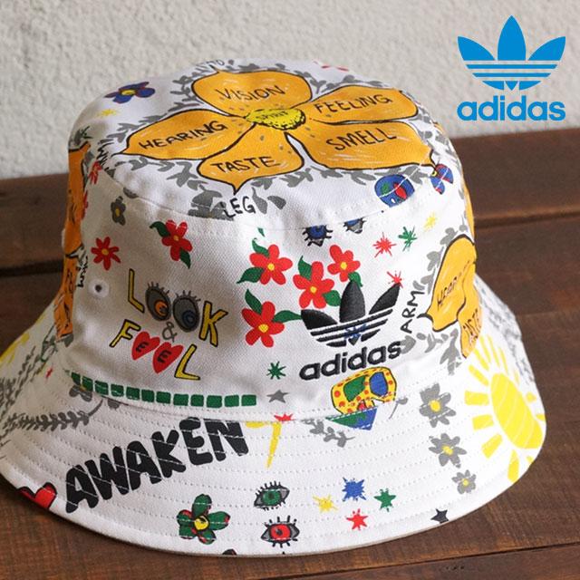 149582fd ... adidas Originals adidas originals Apparel Mens ladies BUCKET HAT  STRANDED stranded bucket Hat white AO2364 SS16 ...