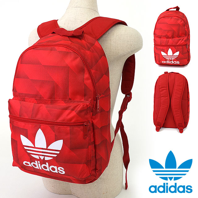 adidas Originals adidas originals apparel men's women's BACKPACK FB trefoil Backpack Backpack multi color power red / white / black AO0024 SS16