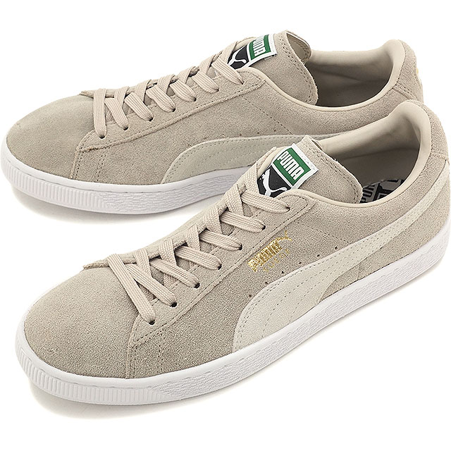 75c3833af0564d Puma men gap Dis sneakers shoes suede cloth classic positive PUMA SUEDE  CLASSIC + oatmeal   white (356