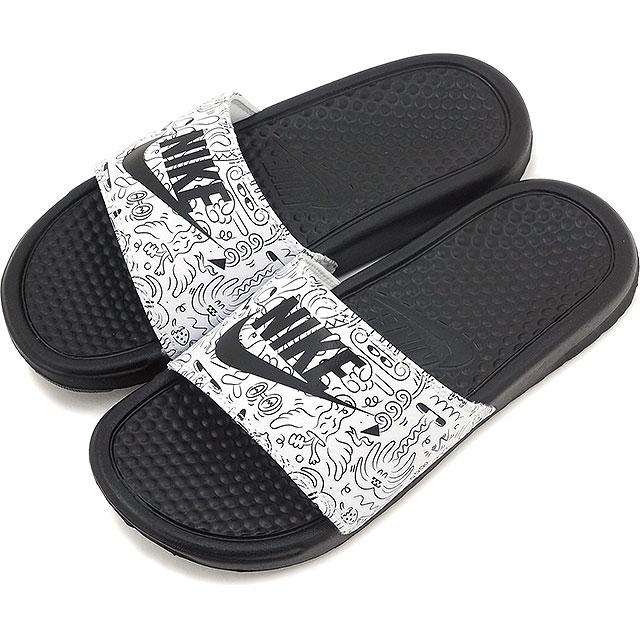brand new 5a87b 43db8 Nike Lady s shower sandal ウィメンズベナッシ JDI print NIKE WMNS BENASSI JDI PRINT  black   black ...