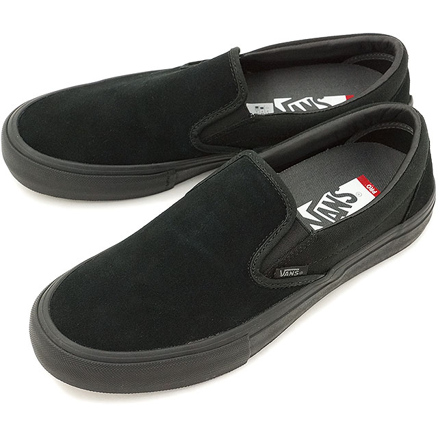 Vans slip-ons pro VANS sneakers shoes SLIP-ON PRO BLACKOUT (VN00097M1OJ)