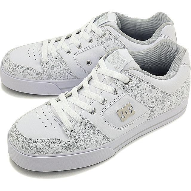 DC shoes pure SE SN DC SHOES men s women s Skate Shoes Sneakers PURE SE SN  WHITE PRINT (ADYS100203 SU16) bdd7233c9c