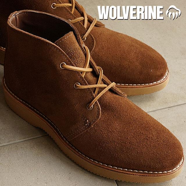 9a774649585 Wolverine Palmer chukka boot WOLVERINE Wolverine men's PALMER BROWN SUEDE  (W40133)
