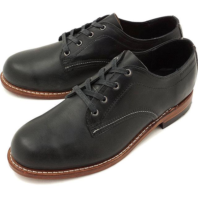 【名入れ無料】 ウルヴァリン 1000マイル 靴 オックスフォード WOLVERINE BLACK 1000マイル ウルバリン メンズ 1000mile Oxford BLACK 靴 (W00942)【コンビニ受取対応商品】, 高月町:affb26d3 --- portalitab2.dominiotemporario.com