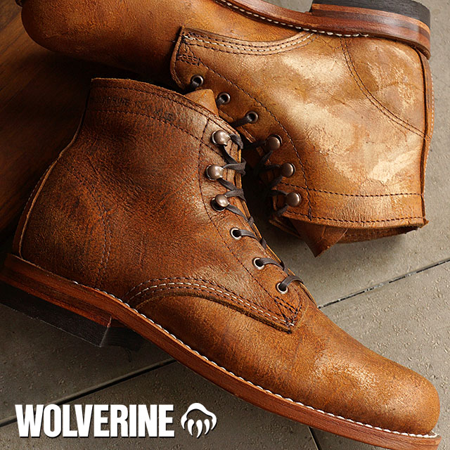 58550f57f43 Wolverine 1000 mile work boot WOLVERINE Wolverine women's women's 1,000  MILE GOLDEN LEATHER (W40073)