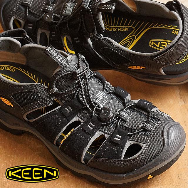 b2914d4284ce Kean Rialto H two KEEN Rialto H2 MEN Black Gargoyle men sandal (1014672  SS16)