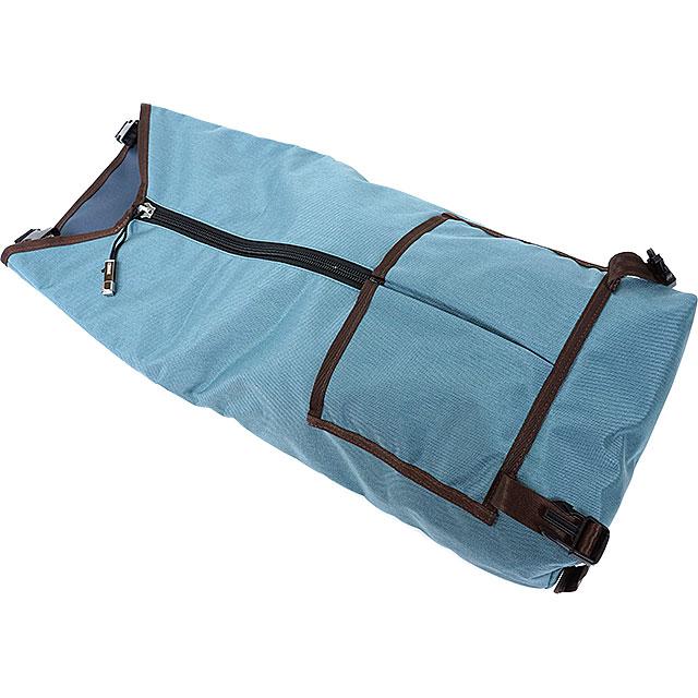 Chrome rolltop Backpack Backpack Skarbek CHROME SKARBEK SEA/INDIGO (BG178SEIN SS16)